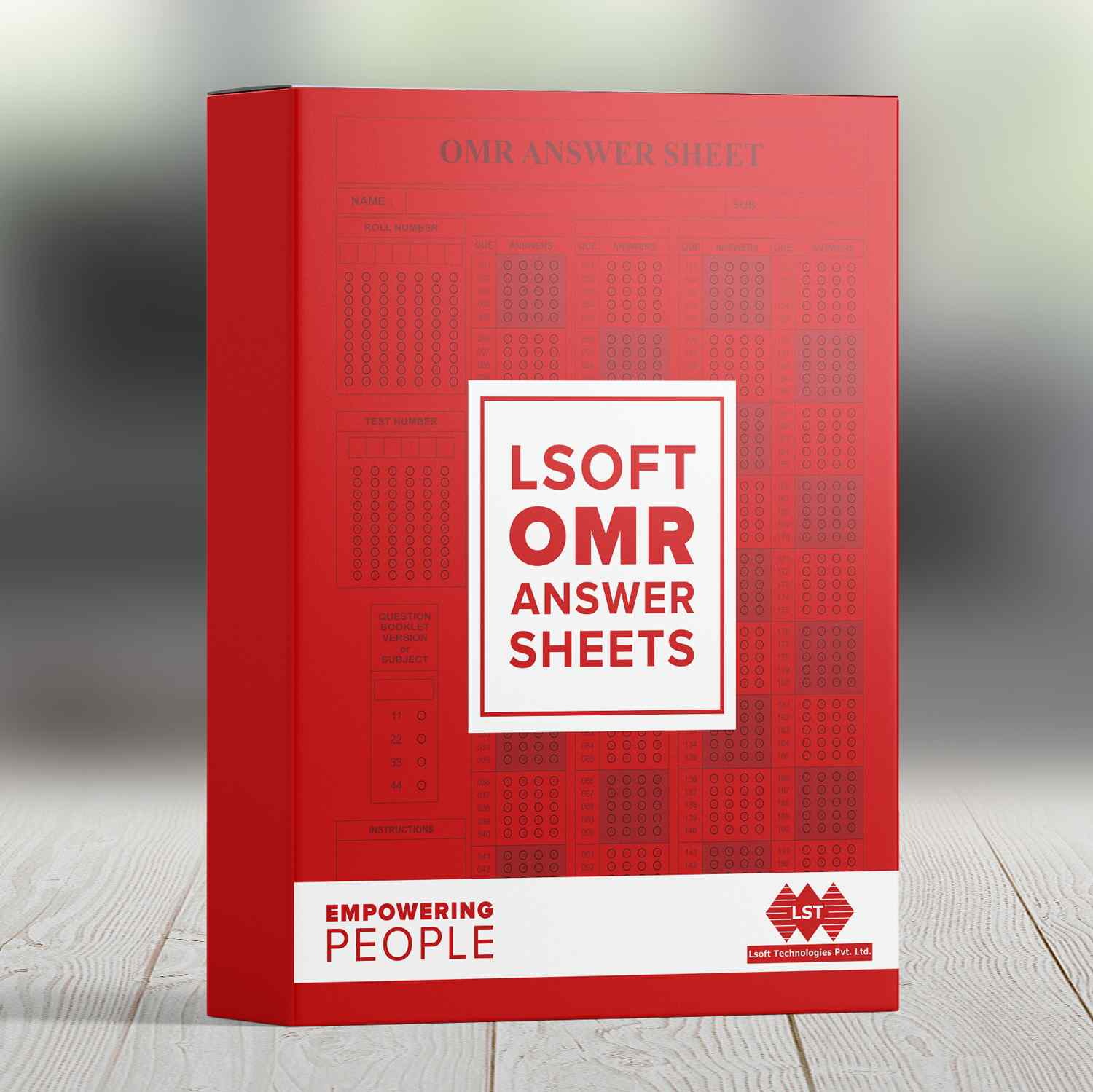 OMR Answer Sheets